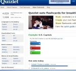 Quizlet.com - Flash card fun