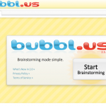 Bubbl.us - Brainstorming and Mind Mapping site