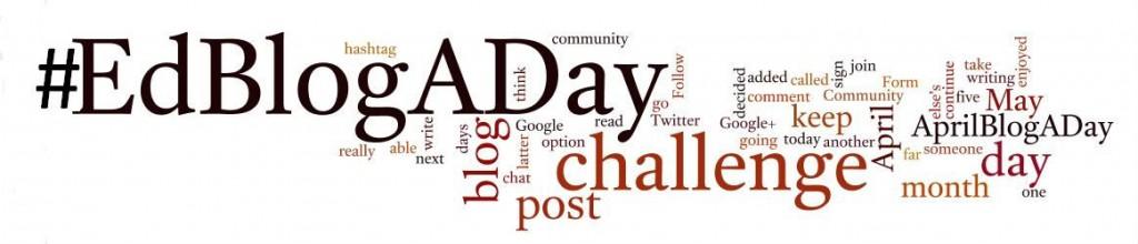 #EdBlogADay